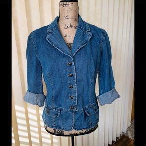 Adorable Vintage Chaps Denim Jacket ❣️